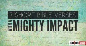 7 Short Bible Verses With A Mighty Impact