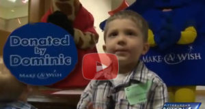 Selfless Way 4 Year Old Dominic Uses His Make A Wish Request