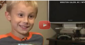 Adorable 2nd Grader Shocks Homeless With His Generosity
