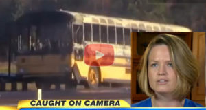 Hero Bus Driver Gets Kids Out Of Bus Engulfed in Flames
