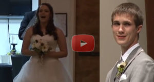 This Bride Brings The Groom To Tears