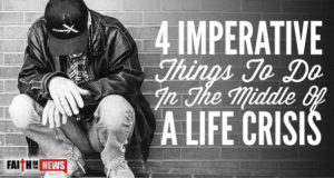 4 Imperative Things To do In The Middle Of A Life Crisis