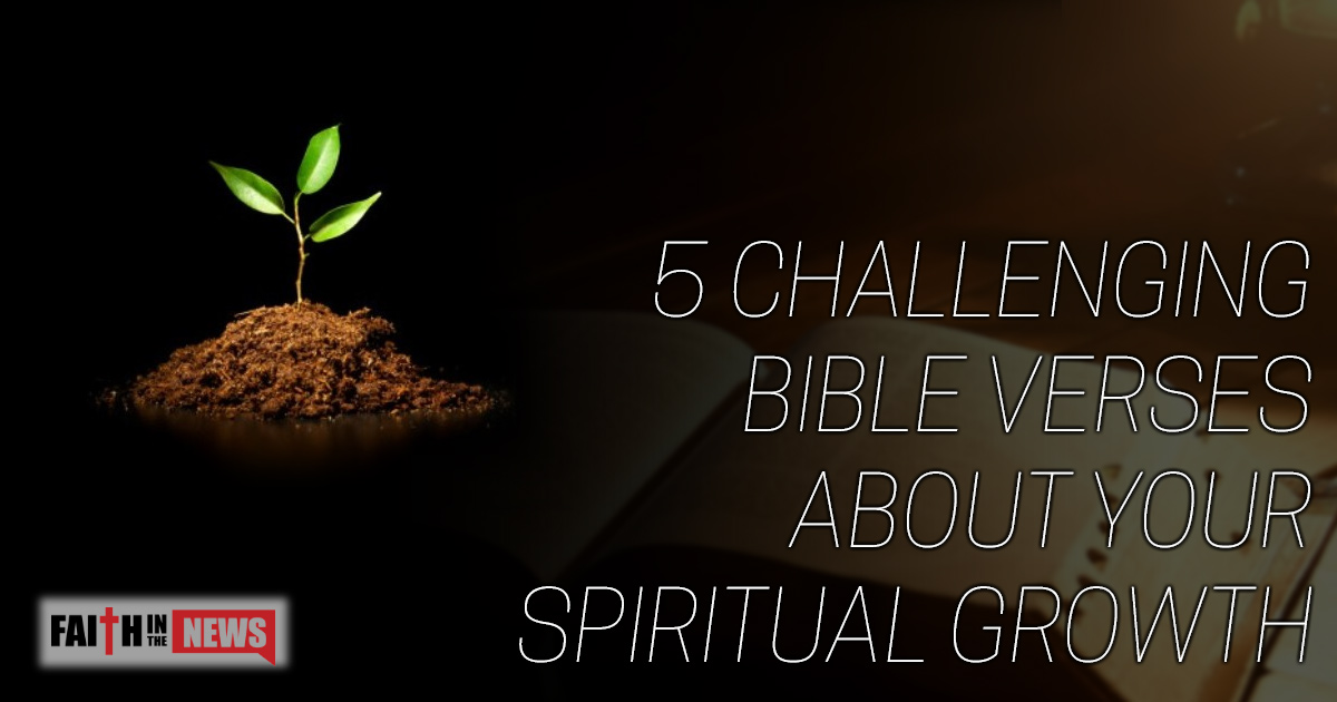 5 Challenging Bible Verses About Your Spiritual Growth Faith In