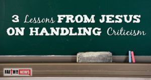 3 Lessons From Jesus On Handling Criticism