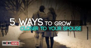 5 Ways To Grow Closer To Your Spouse