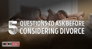 5 Questions To Ask Before Considering Divorce