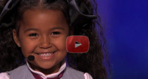 This 5 Year Old Girl Heavenly Is Amazing and Tells The Judges Jesus Lives In Her