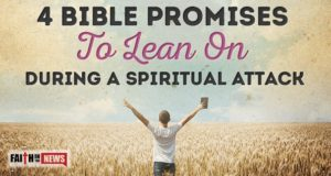 4 Bible Promises to Lean on During a Spiritual Attack