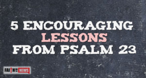 5 Encouraging Lessons From Psalm 23
