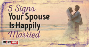5 Signs Your Spouse Is Happily Married