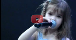 5 Year Old Girl Does An Amazing Version Of Above All