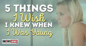 5 Things I Wish I Knew When I Was Young