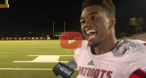 This Football Players Attitude Will Make Your Day