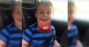 5 Year Old's Reaction To Being A Big Brother
