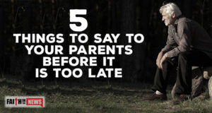 5 Things To Say To Your Parents Before It Is Too Late