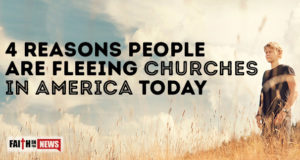 4 Reasons People Are Fleeing Churches In America Today