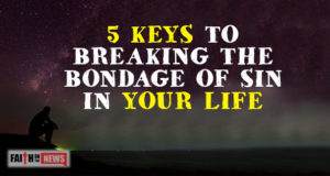 5 Keys To Breaking The Bondage Of Sin In Your Life
