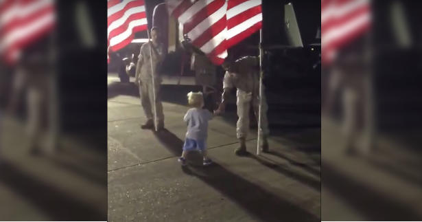 You're Never Too Young to Show Respect for Those That Serve