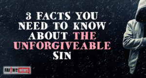 3 Facts You Need To Know About The Unforgiveable Sin