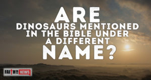Are Dinosaurs Mentioned In The Bible Under A Different Name?