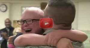 Military Dad Pulls Off The Best Surprise Ever