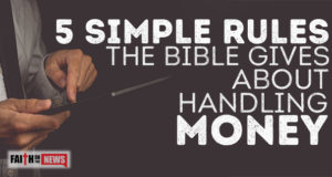 5 Simple Rules The Bible Gives About Handling Money