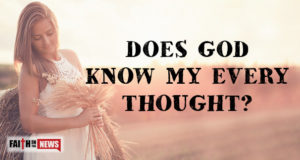 Does God Know My Every Thought?