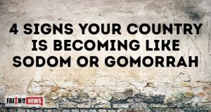 4 Signs Your Country Is Becoming Like Sodom Or Gomorrah