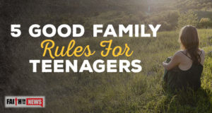 5 Good Family Rules For Teenagers