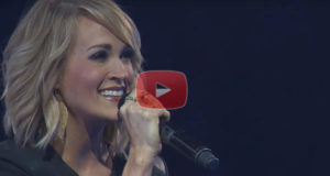 Carrie Underwood Singing 'Something In The Water'