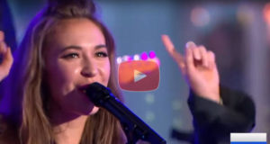 Lauren Daigle on Good Morning America, Live, & in Front of Millions