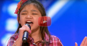 Find Out Why This Adorable 9 Year Old Girl Brings The Crowd To Their Feet