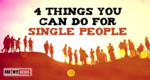 4 Things You Can Do For Single People