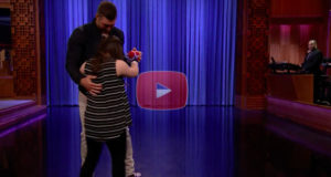 Tim Tebow Surprises Audience By Dancing With His Fan Judy