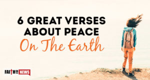 6 Great Verses About Peace On The Earth