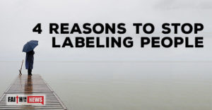 4 Reasons to Stop Labeling People
