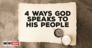 4 Ways God Speaks to His People