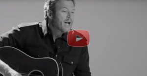 "Listen To Blake Shelton's New Song ""Savior Shadow"""