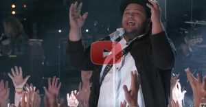 A Worship Song on 'The Voice', During Prime Time T.V…… Goosebumps