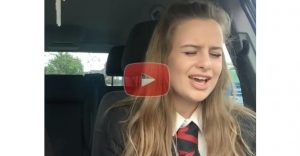 "14 Year Old Jess Cass Crushes ""What A Beautiful Name It Is"" By Hillsong"